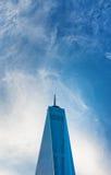 One World Trade Center glass facade Royalty Free Stock Photos
