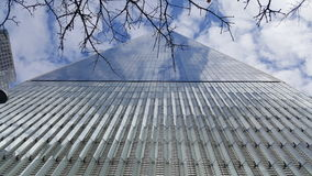 The one world Trade Center. Looking up at it Stock Images