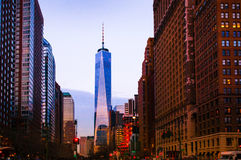 One world trade center, New York Stock Images