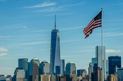 One World Trade Center in New York Royalty Free Stock Images