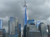 One world trade center skyline stock photography