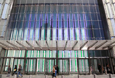 One World Trade Center - South Entrance royalty free stock photo