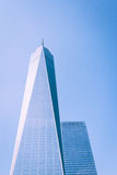 One World Trade Center is the tallest building in the Western He Stock Photos