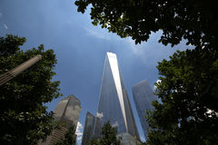 One World Trade Center tower, Manhattan, New-york, USA Royalty Free Stock Image