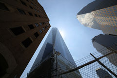 One World Trade Center tower, Manhattan, New-york, USA Royalty Free Stock Photos