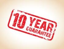 Guarantee stamp. A one year guarantee stamp Stock Photos