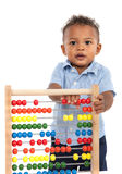 One Year Old African American Boy Stock Photography