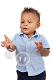 One Year Old African American Boy Royalty Free Stock Image