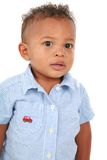 One Year Old African American Boy Portrait Royalty Free Stock Photos