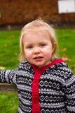 One Year Old Child Lifestyle Portrait Stock Image