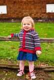 One Year Old Child Lifestyle Portrait Royalty Free Stock Photography