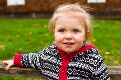 One Year Old Child Lifestyle Portrait Royalty Free Stock Images