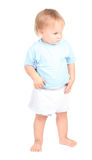 One years old baby boy Stock Photo