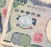 One Yen Stock Photography