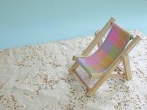 Onecht strand Royalty-vrije Stock Foto's