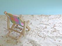 Onecht strand Royalty-vrije Stock Fotografie