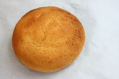 Onef of a Mexican bun on white Royalty Free Stock Photography