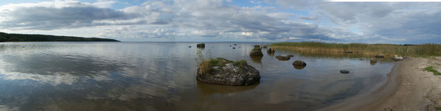 Onega lake , Russia Stock Photography