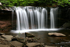 Oneida Falls. Rickett's Glen State Park, PA Royalty Free Stock Photo