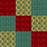 Oneindig groen roostergoud Stock Afbeeldingen