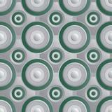 Oneindig rooster groen zilver Royalty-vrije Stock Afbeelding