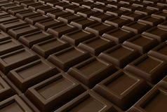 Oneindige chocolade Royalty-vrije Stock Foto