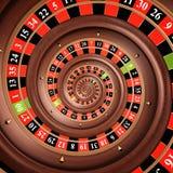 Oneindige roulette Royalty-vrije Stock Afbeelding