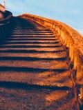Oneindige stappen stock foto's