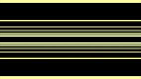 Oneindige vlieg door de Lijnen van abstrack horizontale lijnen in horizontale bewegingen op zwarte achtergrond stock illustratie