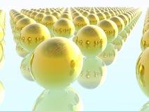 Oneindigheid. 3D geef terug. royalty-vrije illustratie