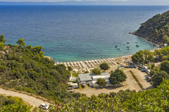 Oneirou Beach Manassu, Chalkidiki, Sithonia, Central Macedonia Stock Photo