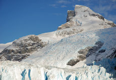 Onelli Glacier royalty free stock images