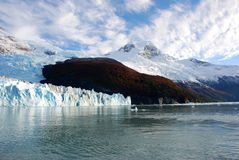 Onelli Glacier royalty free stock photo