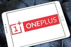 OnePlus smartphone manufacturer logo Royalty Free Stock Image