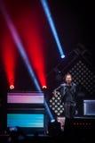 OneRepublic exécute vivant à l'arène de MEO le 21 novembre 2014 à Lisbonne, Portugal Images stock