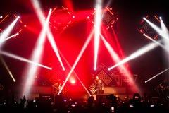 OneRepublic führt Live an MEO-Arena am 21. November 2014 in Lissabon, Portugal durch Lizenzfreies Stockbild