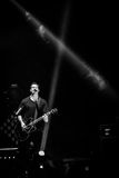 OneRepublic führt Live an MEO-Arena am 21. November 2014 in Lissabon, Portugal durch Stockfotografie