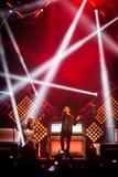 OneRepublic führt Live an MEO-Arena am 21. November 2014 in Lissabon, Portugal durch Stockbild