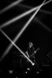 OneRepublic realiza vivo en la arena de MEO el 21 de noviembre de 2014 en Lisboa, Portugal Foto de archivo