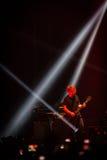 OneRepublic realiza vivo en la arena de MEO el 21 de noviembre de 2014 en Lisboa, Portugal Imagenes de archivo