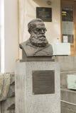 Onesim Egorovich Clair, monument Photographie stock