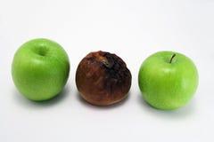 Oneven appel royalty-vrije stock fotografie