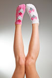 Oneven sokken Stock Foto