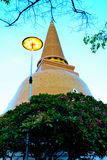 Ong bra prathom chedi Stock Photos