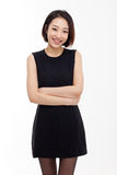 Ong pretty Asian business woman Stock Photography