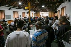 ONG Sermig - masa dla wolontariuszów Brasil, San - Paolo - Obraz Royalty Free