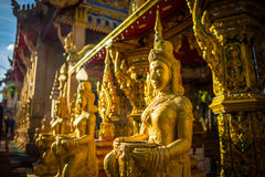 ONG tue de yai de chao de phra de Wat tai Photo stock