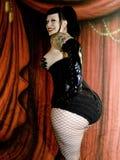 Ongebruikelijk speld-Omhooggaand Meisje Royalty-vrije Stock Afbeelding