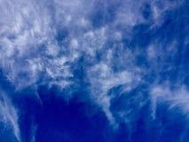 Ongebruikelijk wolkenvorming of patroon Stock Fotografie