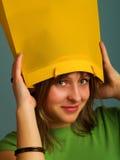 Ongebruikelijke hoed Stock Afbeeldingen